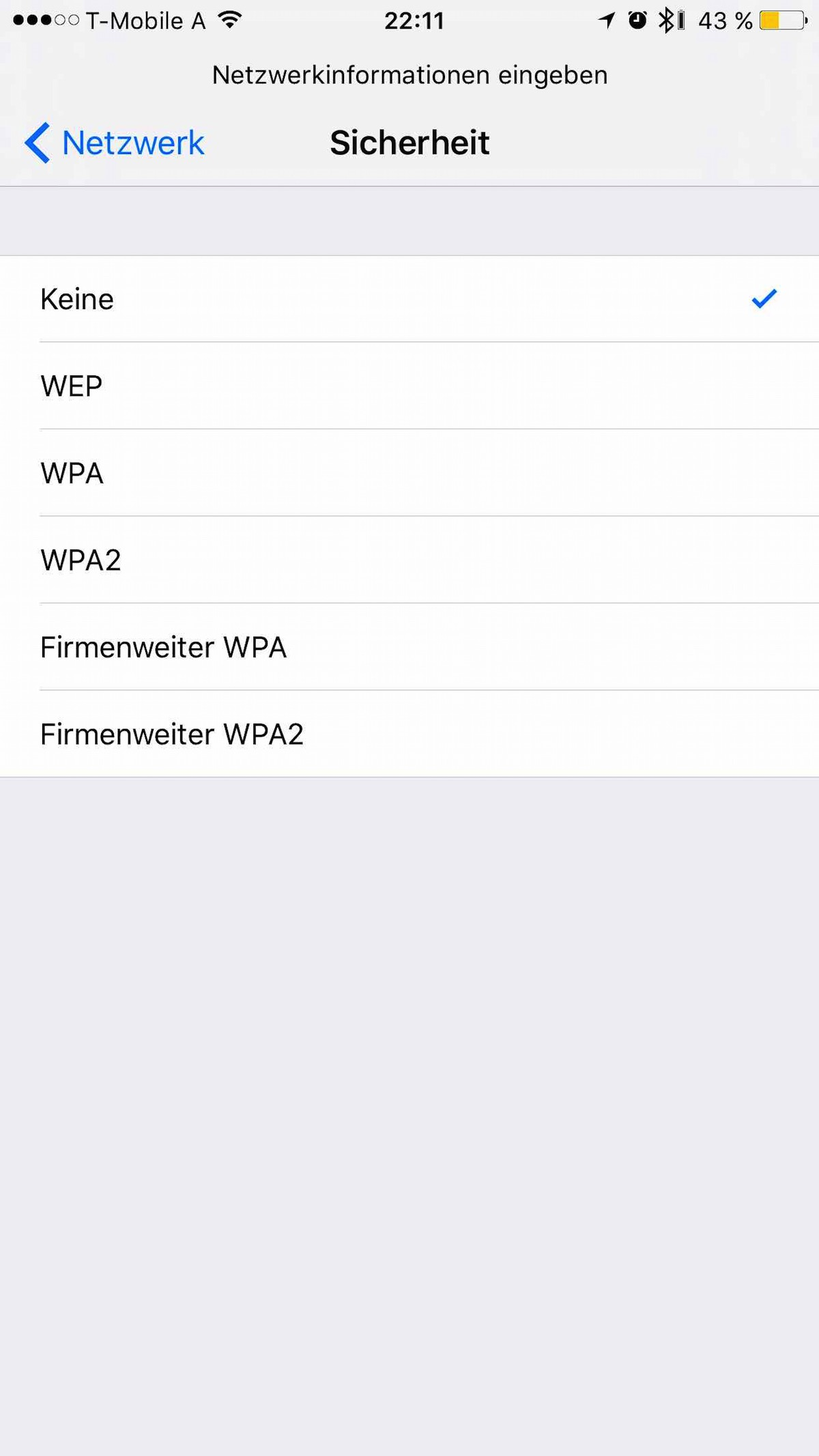 Tutorial iPhone verstecktes WLAN