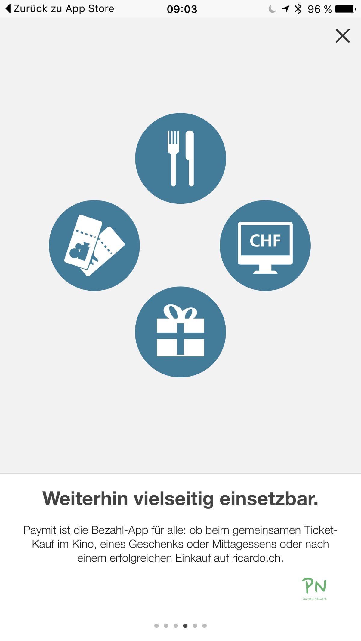 UBS Paymit - Update und neues Logo