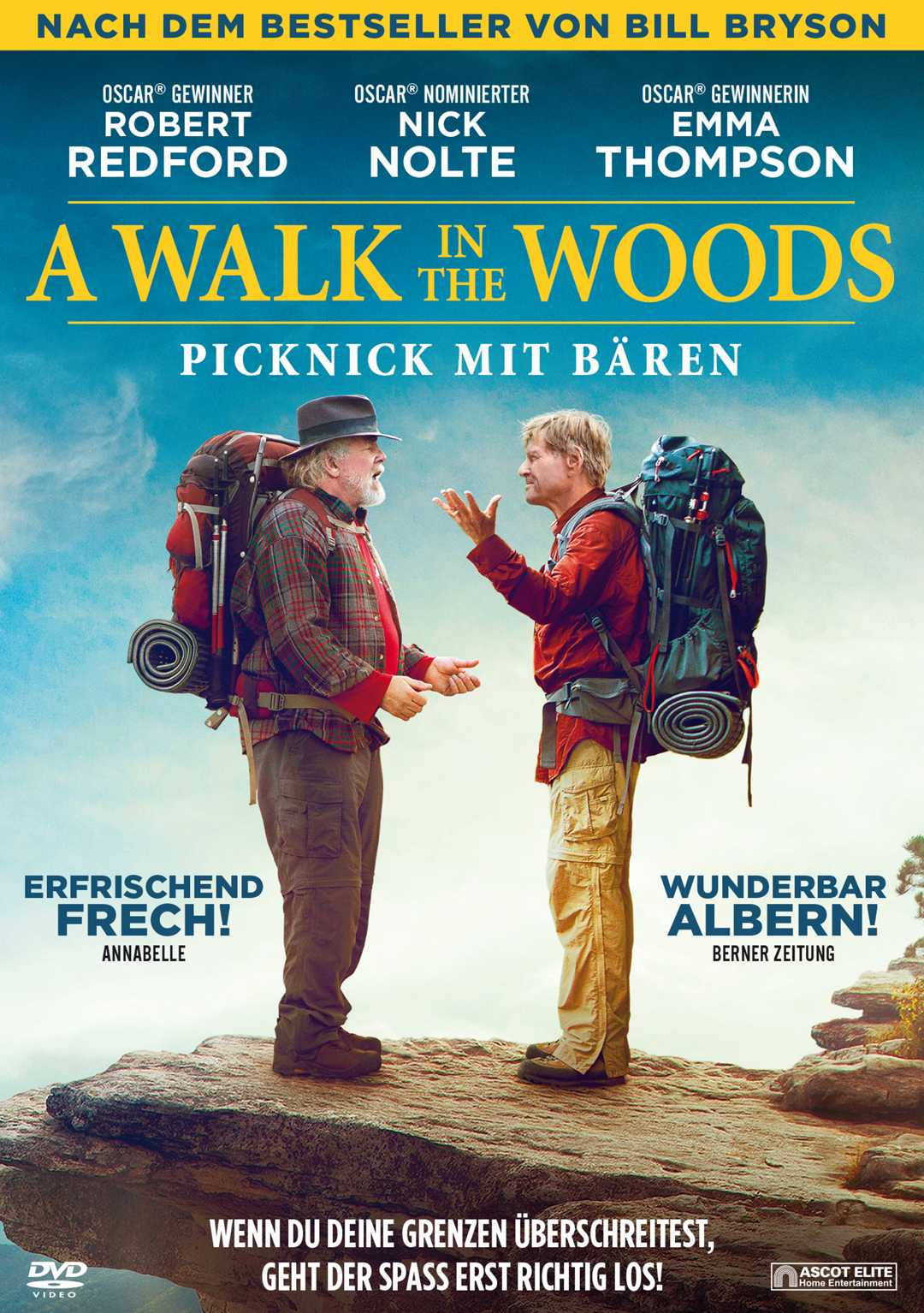 Picknick mit Bären – A walk in the woods