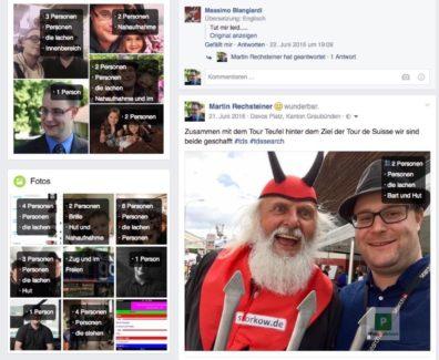 Was Facebook über deine Bilder weiss
