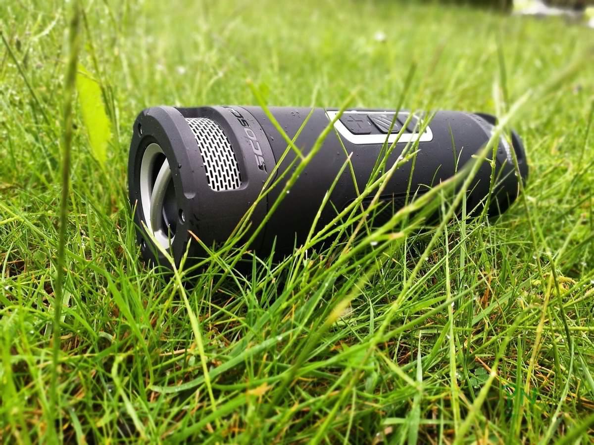 scosche boomBOTTLE+ ein Outdoor Lautsprecher