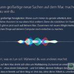 Siri jetzt auch unter macOS