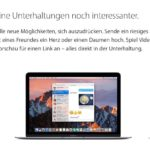 Auch auf dem Mac lernt iMessage deutlich dazu
