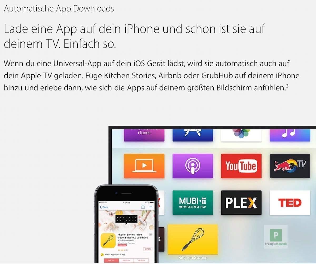 Automatische App Downloads