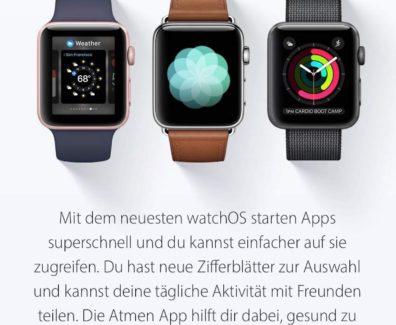 watchOS 3 – was ist neu?