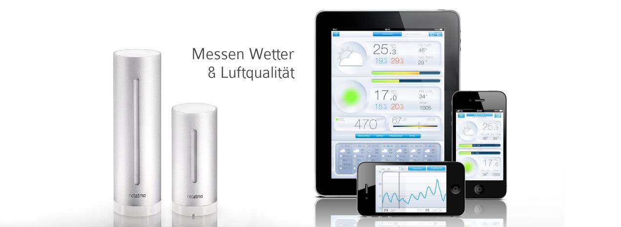 Urban Weather Station – das eigene Wetter auf dem iPhone