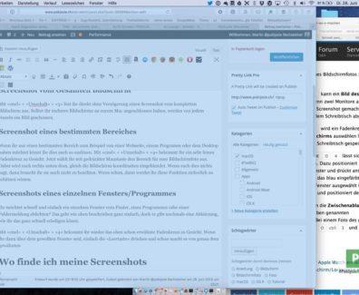 Bildschirmfoto in macOS machen