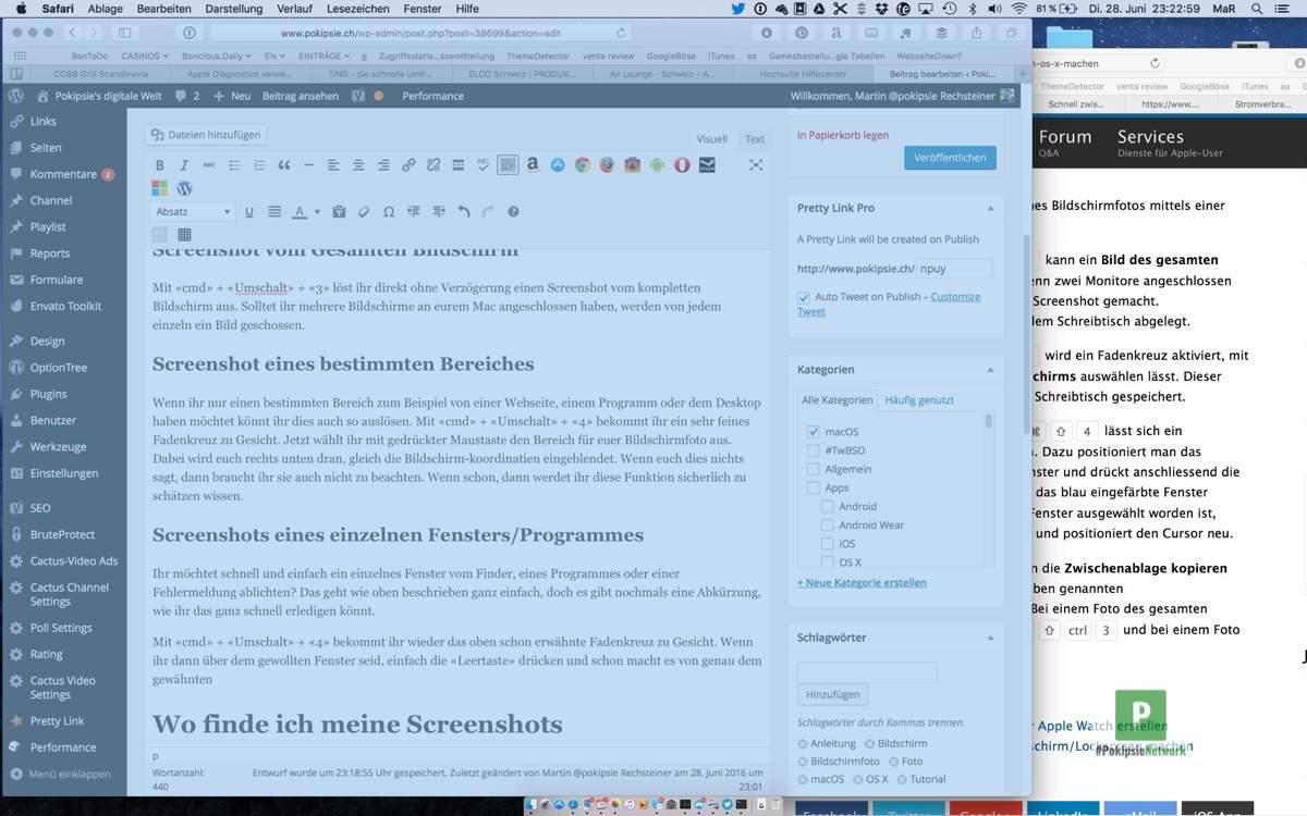 Tutorial – Bildschirmfoto in macOS machen