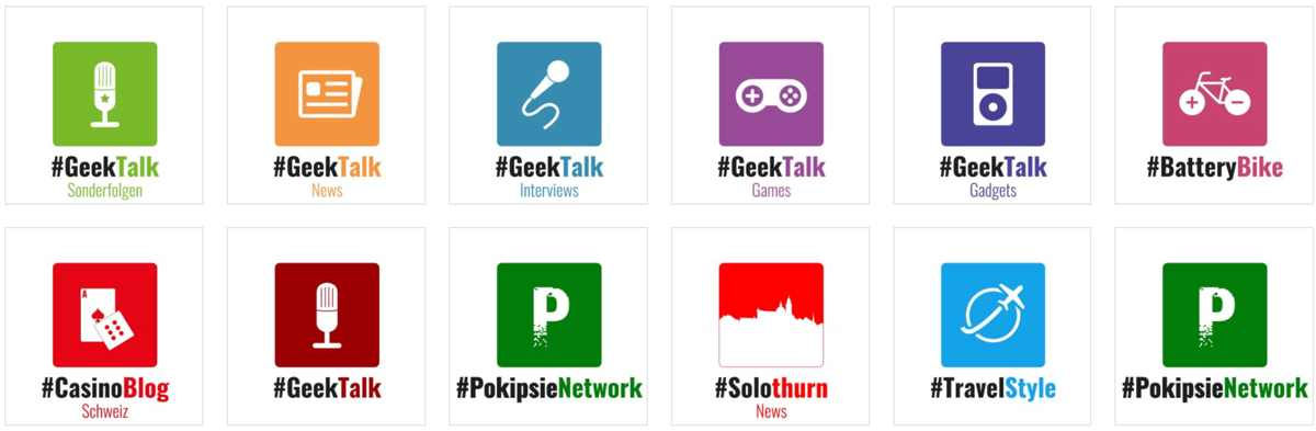 Neue Logos im Pokipsie Network