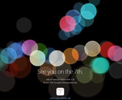 Apple Keynote September 2016