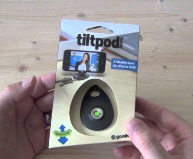 Tiltpod Review – Ständer fürs iPhone und Kompaktkameras im Test für GadgetPlaza.ch