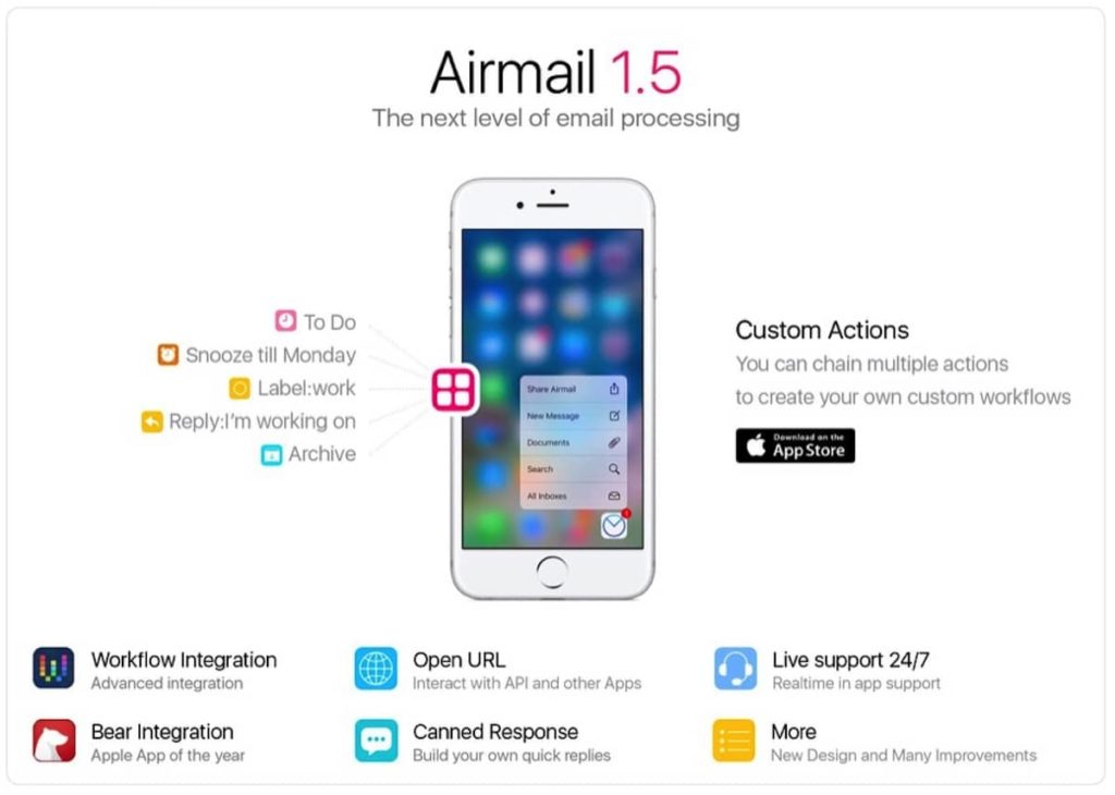 Airmail 1.5 - Neue Features und Integrationen