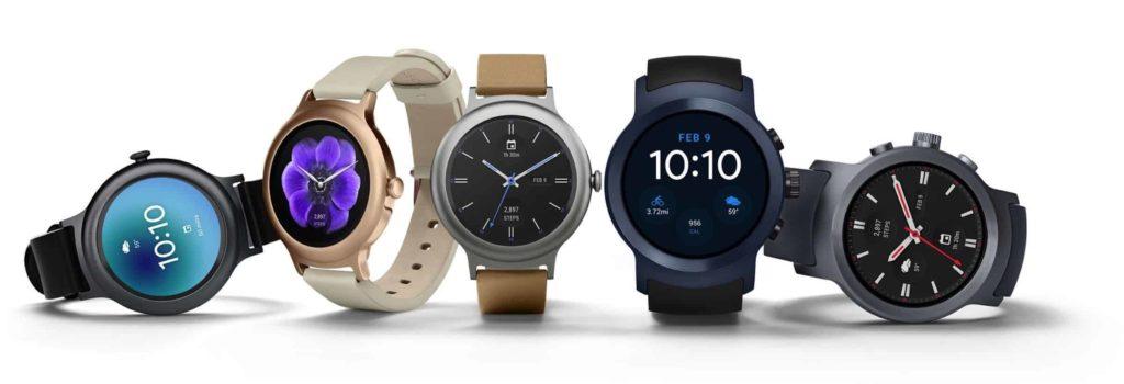 Android Wear 2 LG Uhren