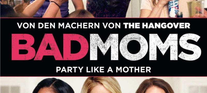 Bad Moms DVD Cover