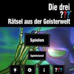 Drei Fragezeichen Geisterwelt Cover