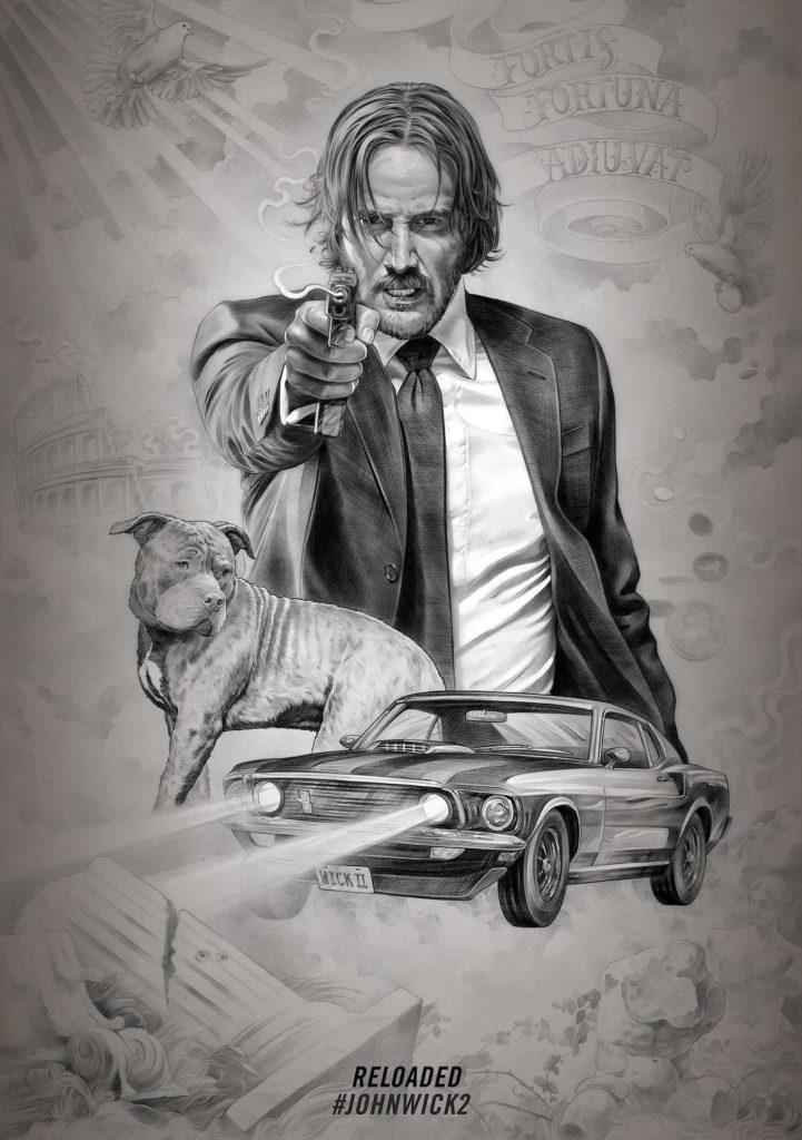 Die Hauptinhalte - Knarren, Autos und ein Hund