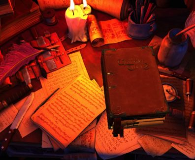 The Book of Unwritten Tales Header