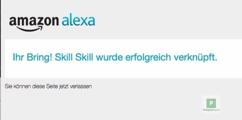 Tutorial - Alexa Skill für Bring - Einkaufsliste via Sprache erweitern