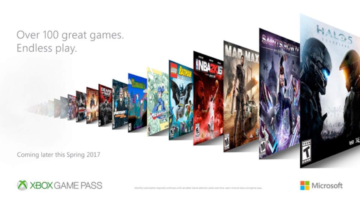 Xbox Game Pass – Netflix für Gamer?
