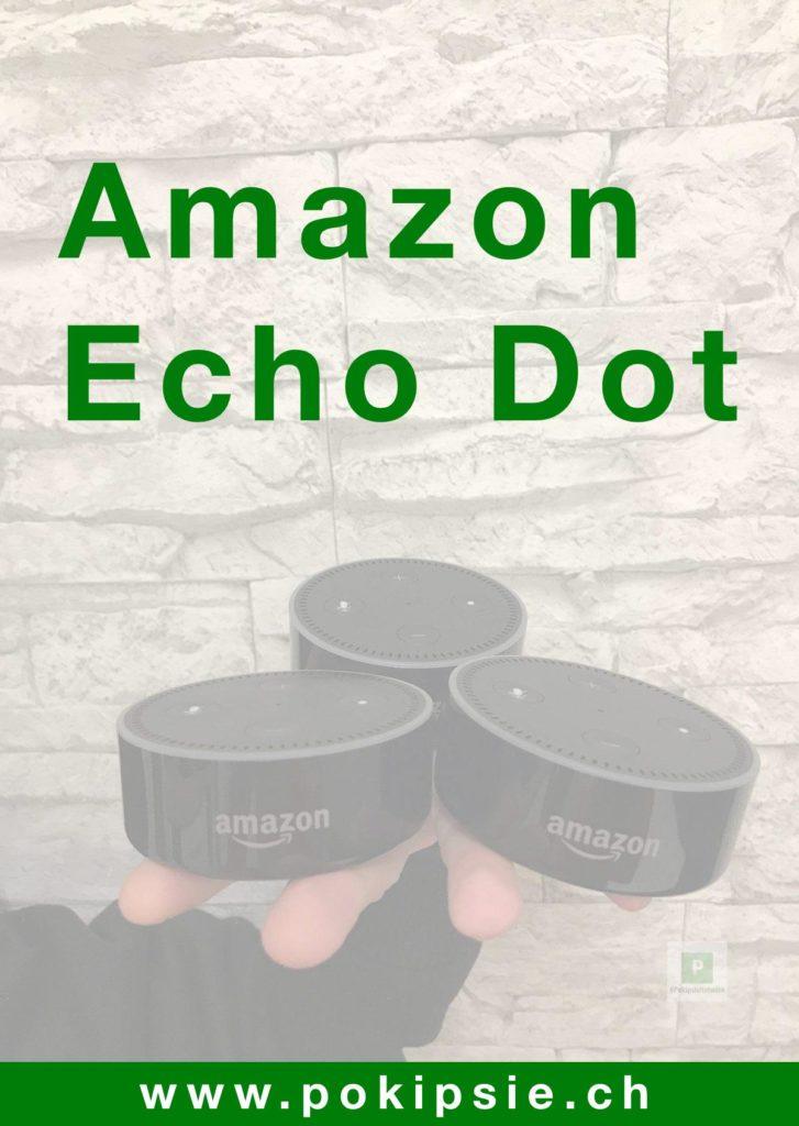 Amazon Echo Dot Übersichtsseite