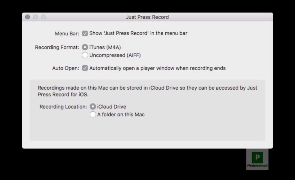 Just Press Record App