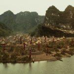Das Dorf auf der Insel
