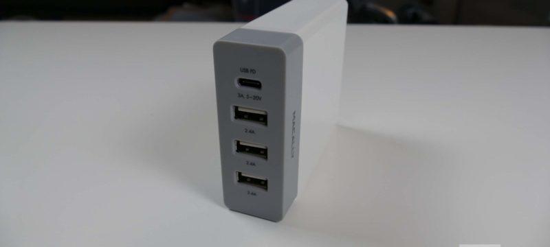 Macally HOME72UC-EU USB-Ladestation für den Schreibtisch