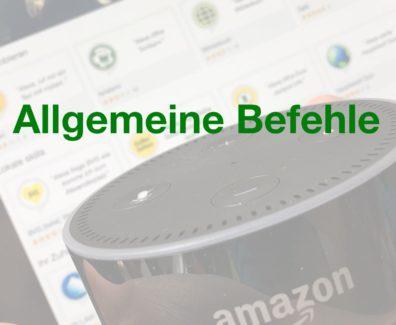 Pinterest – Amazon Echo – Allgemeine Befehle