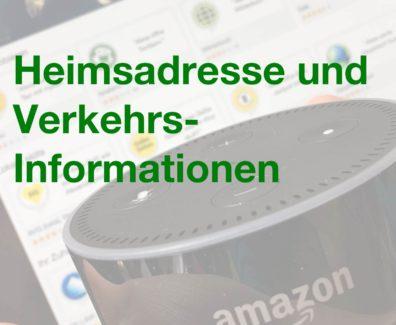 Pinterest – Amazon Echo – Heimadresse und Verkehrsinformationen