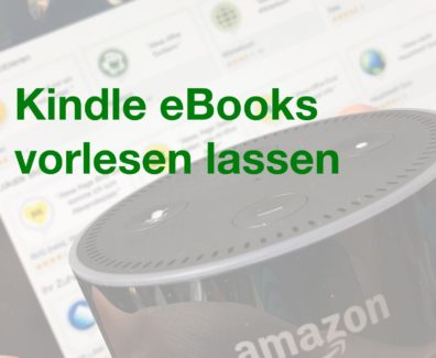 Pinterest – Amazon Echo – Kindle eBooks vorlesen lassen