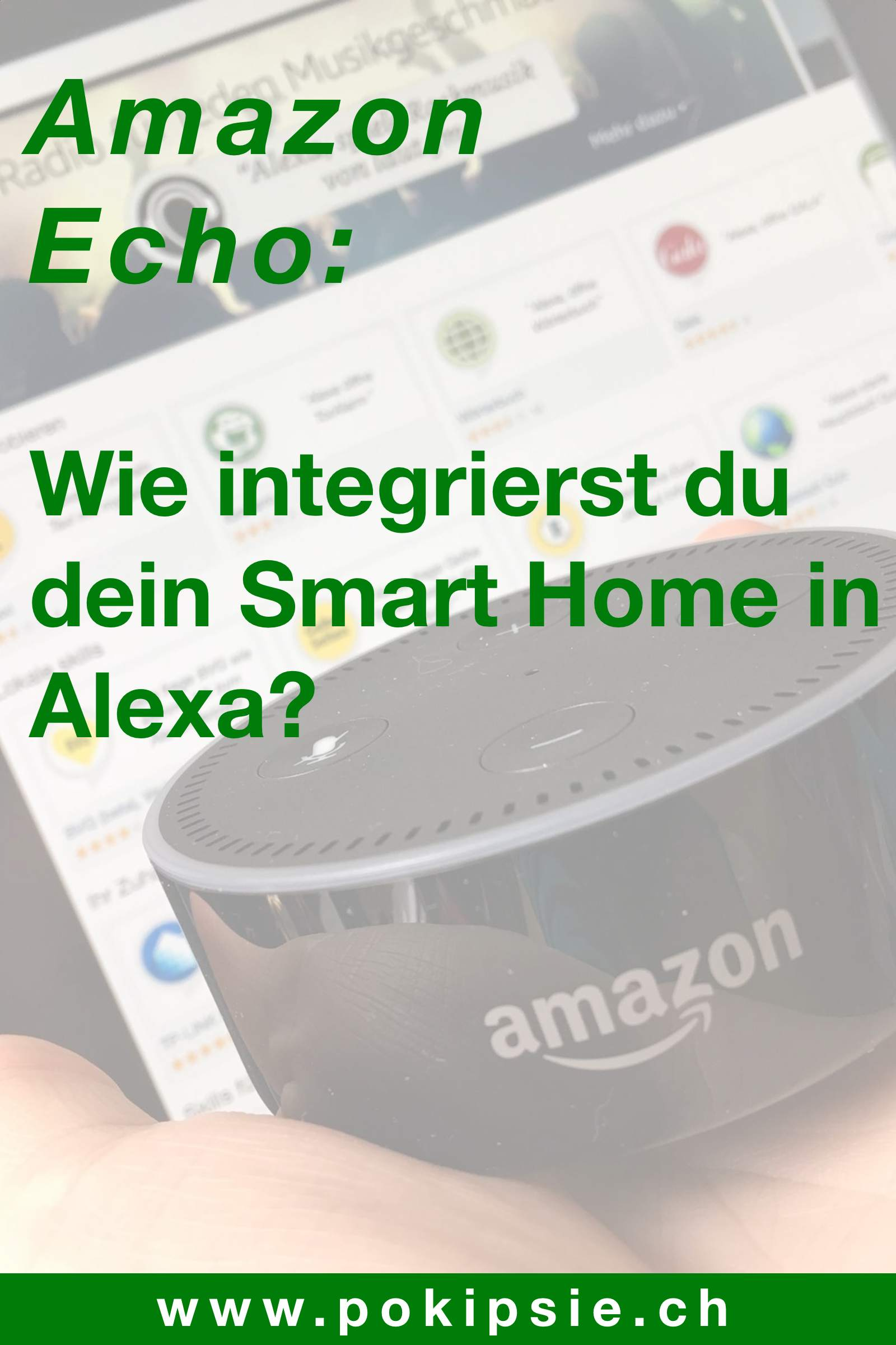 Pinterest – Amazon Echo – Smart Home