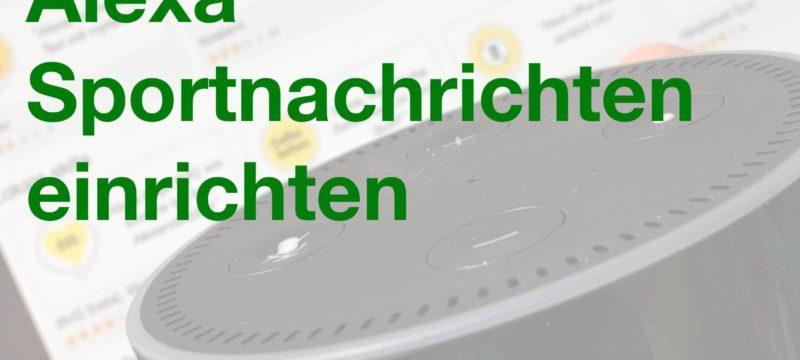 Pinterest – Amazon Echo – Sportnachrichten einrichten