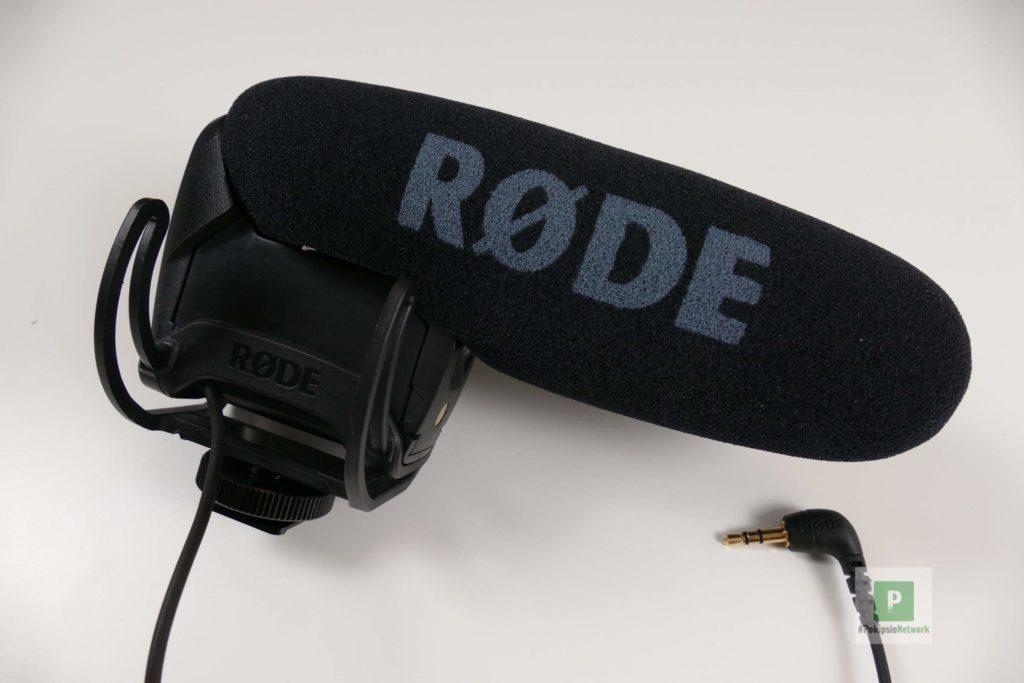 Das Mikrofon von ganz nah