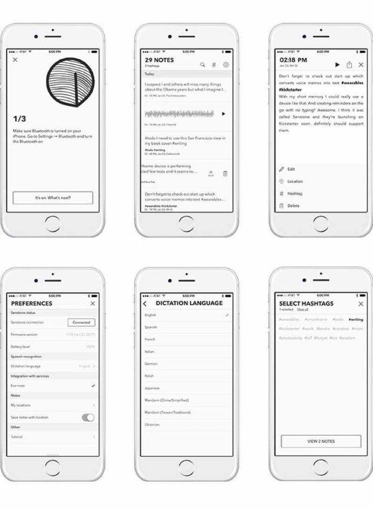 Die App und ihre Funktionen