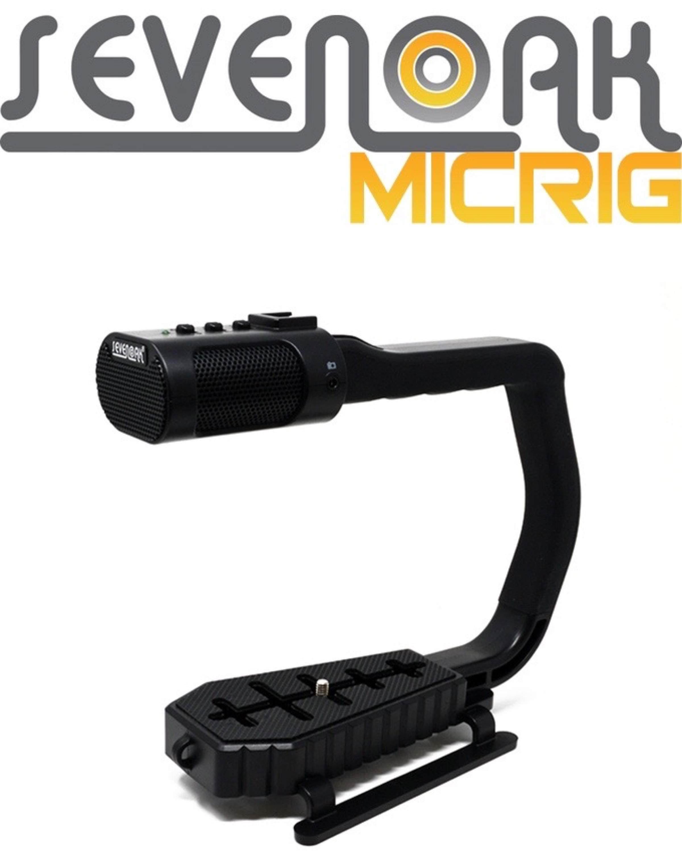 Sevenoak MicRig – Die universale Video Halterung mit integrirertem Mikrofon?