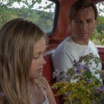 Young Merry Levov (Hannah Nordberg), Seymour 'Swede' Levov (Ewan McGregor)