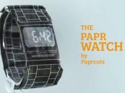 PAPR Watch – die Papieruhr aus Berlin