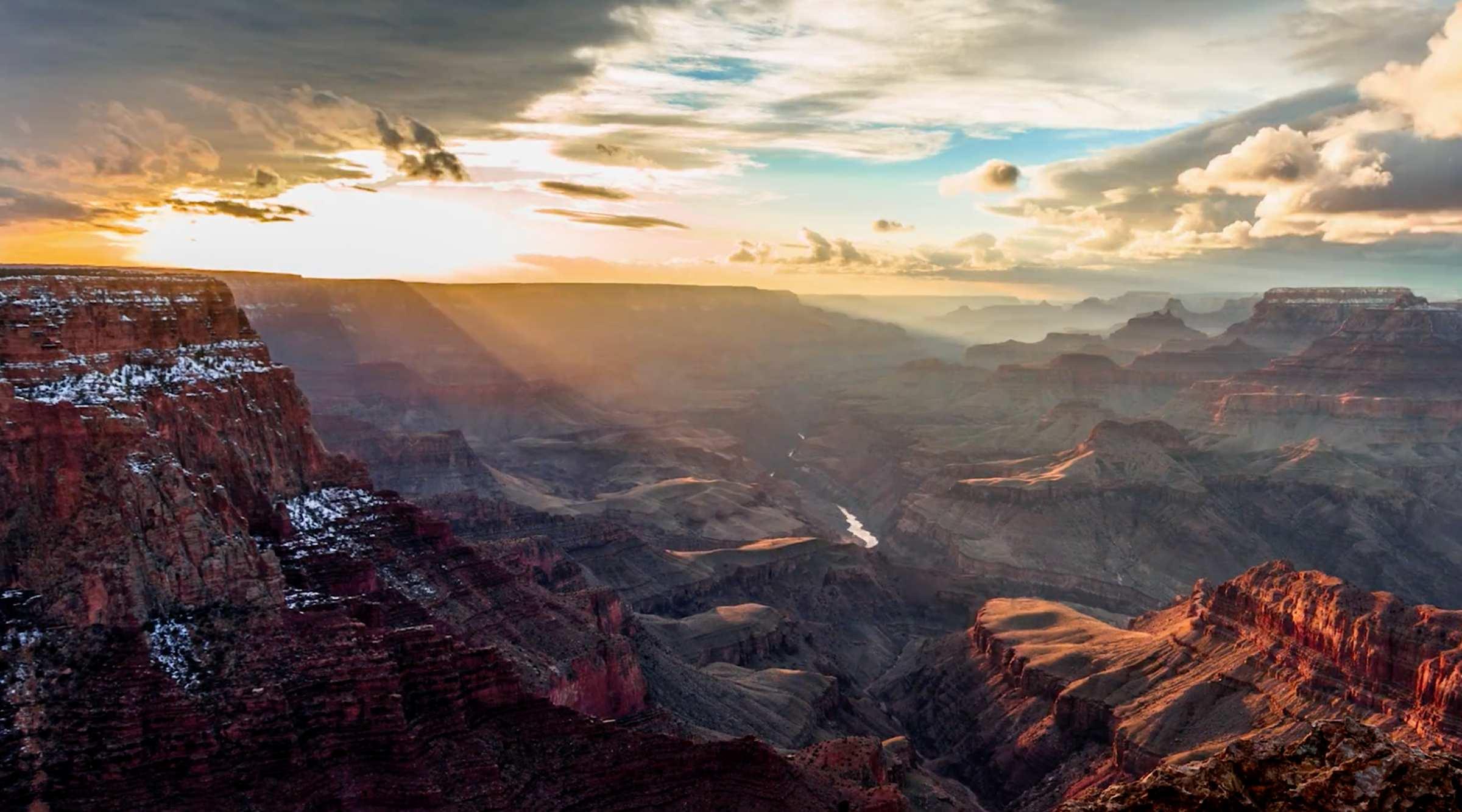 Time Lapse Aufnahmen vom Grand Canyon