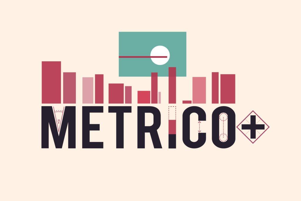 Metrico+ Header