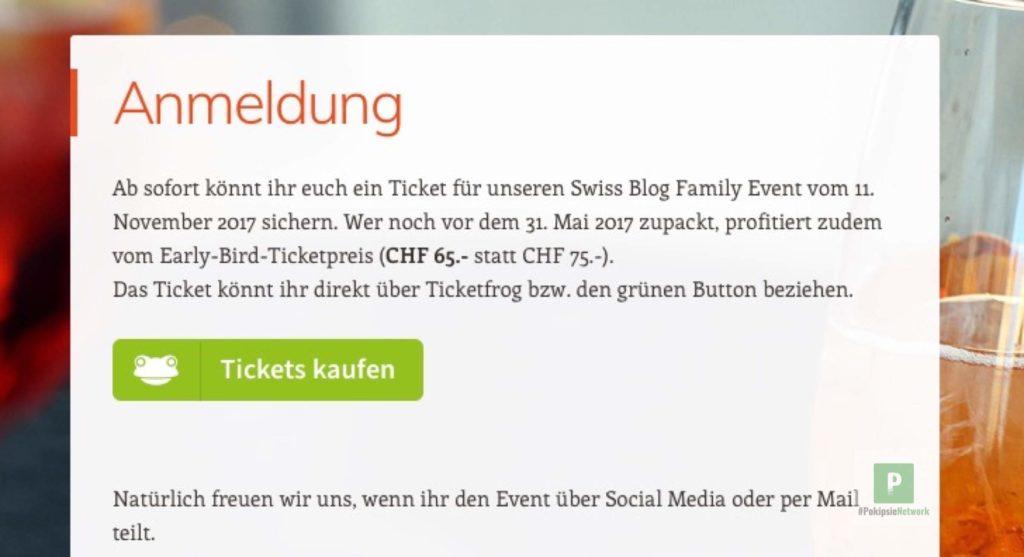 Ticketverkauf in die eigene Webseite einbauen