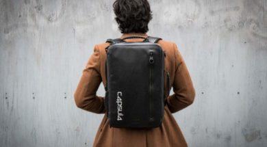 CAPSULA Backpack – Wasserdichter Rucksack gesucht