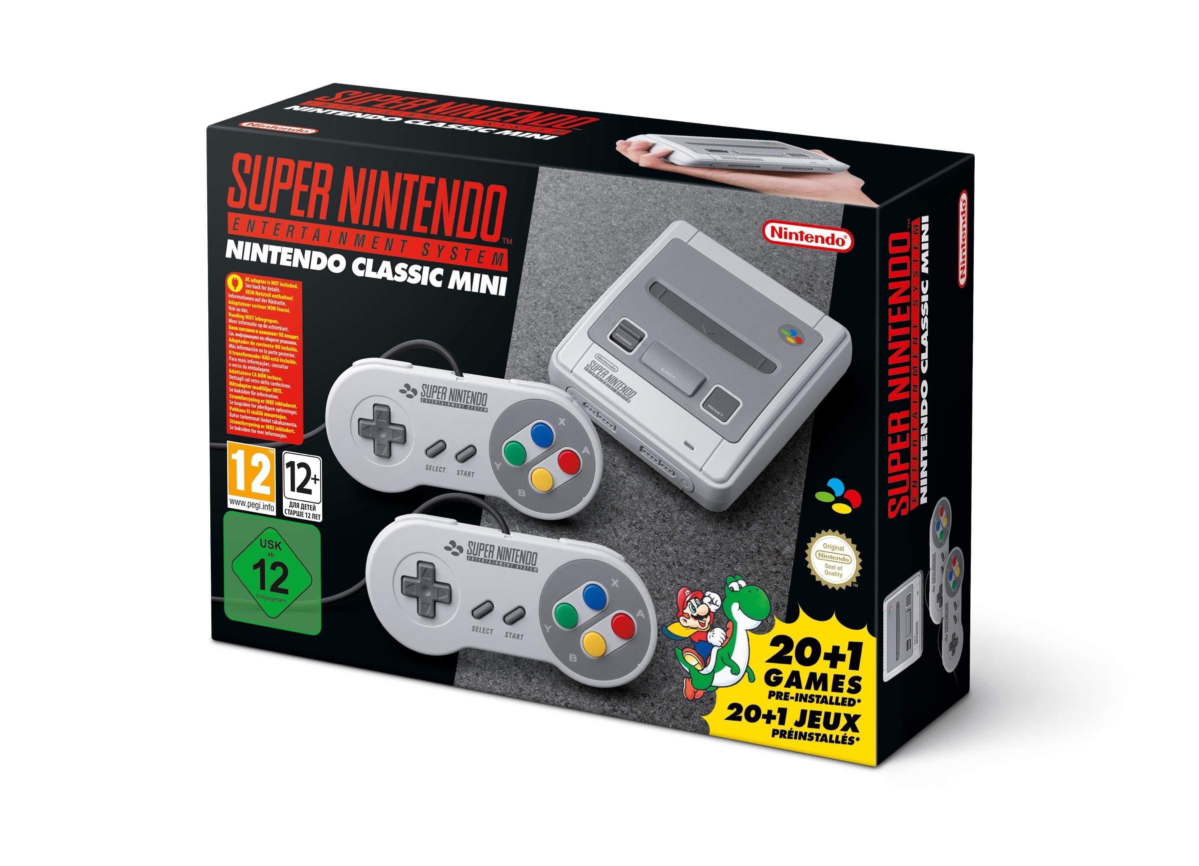 Super Nintendo Entertainment System ab 29.09. im Handel