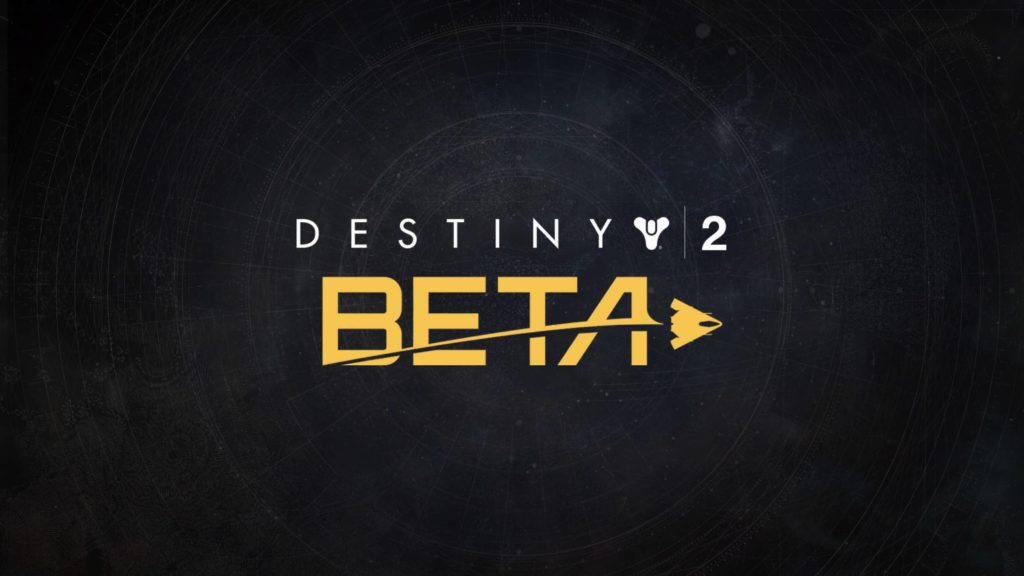 Destiny 2 Beta Header