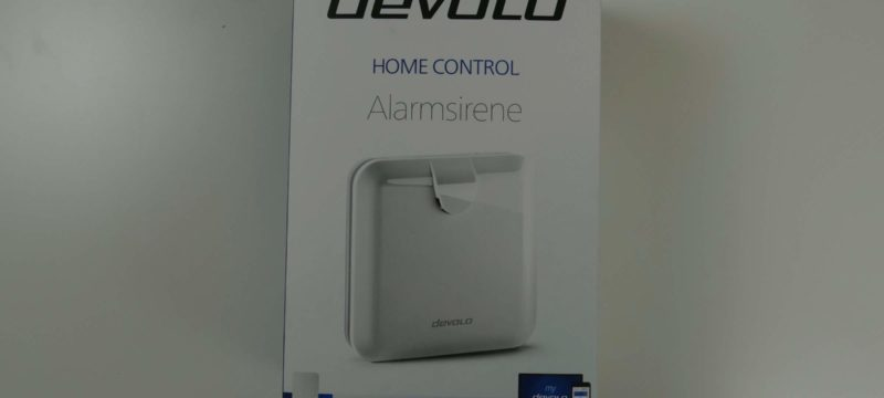 Devolo Home Control – Alarmsirene