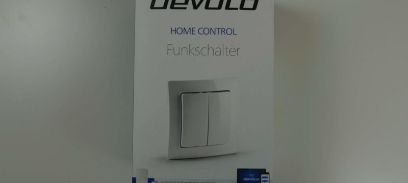 Devolo Home Control – Funkschalter