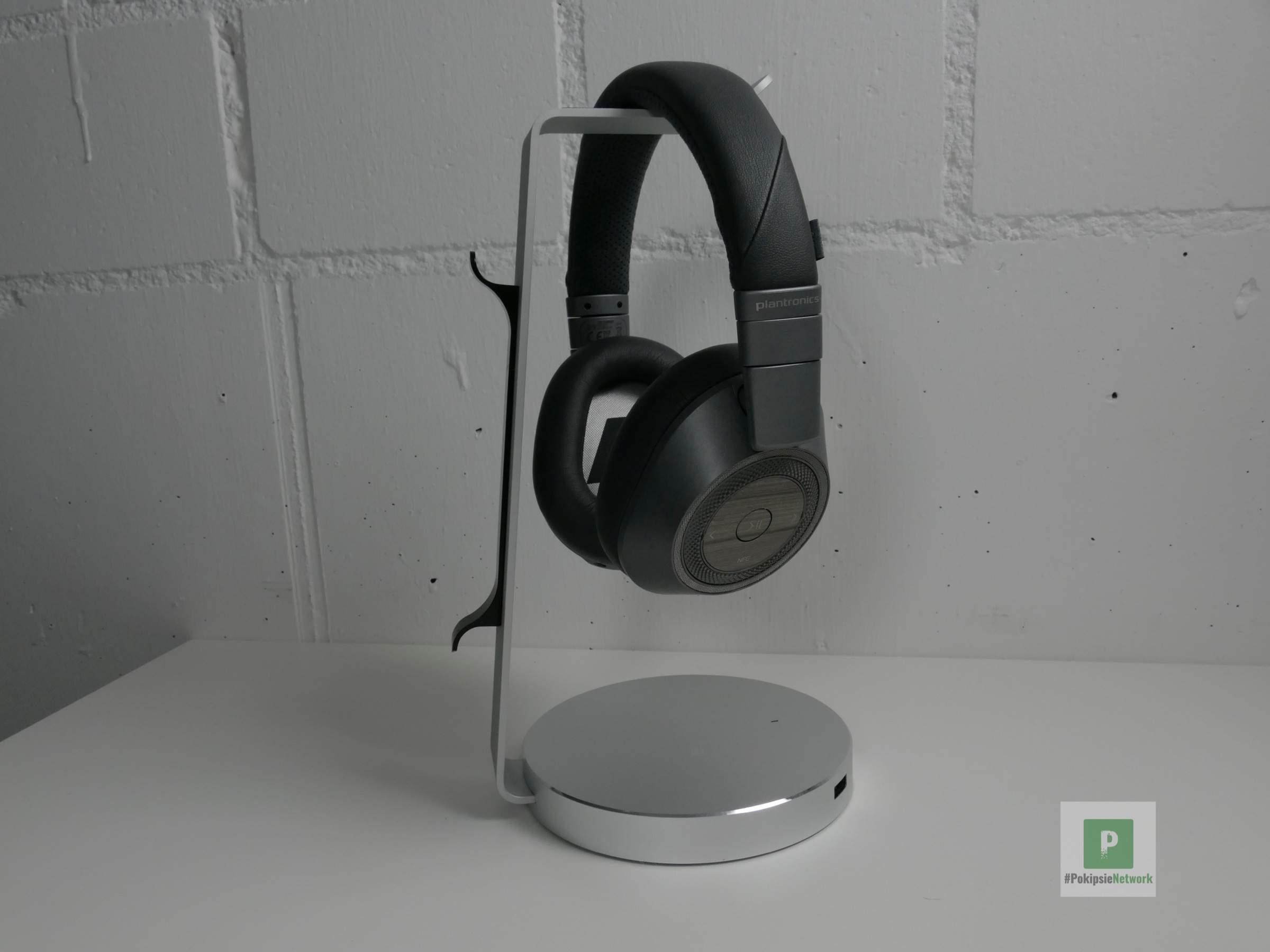 Kopfhörer auf dem Stand
