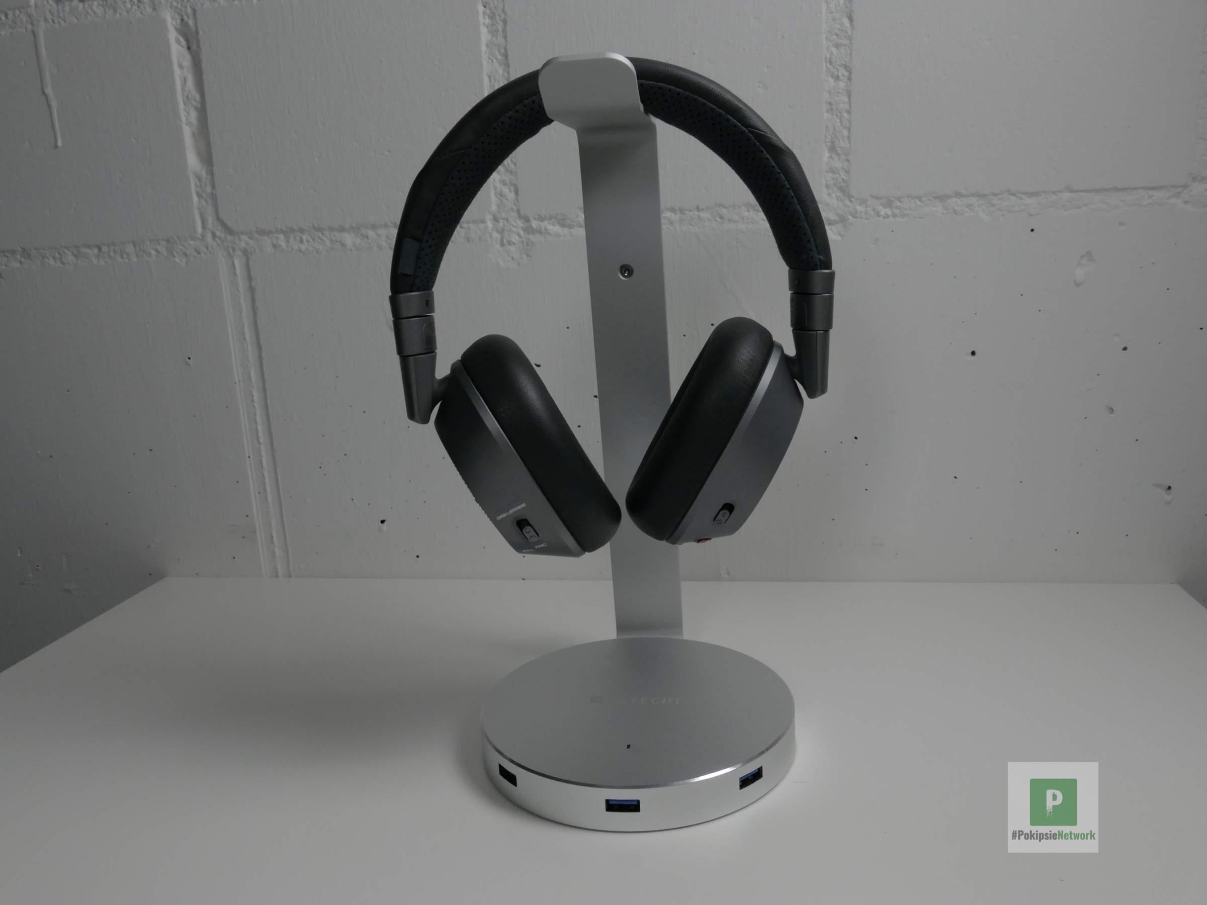 Satechi Aluminum Kopfhörer Ständer inkl. USB Hub