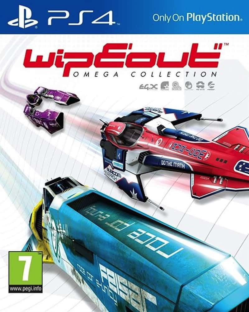 WipEout Omega Collection Cover