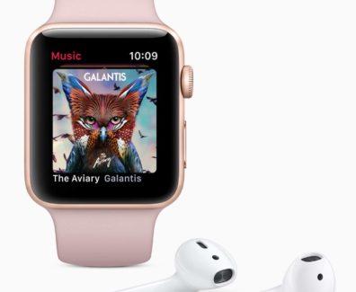 Apple Watch Series 3 mit den AirPods – die Idee meines neuen Setups
