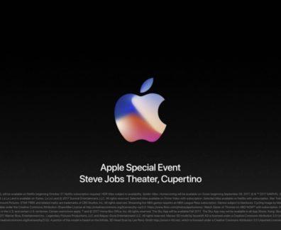 Apple iPhone Keynote 2017 Zusammenfassung